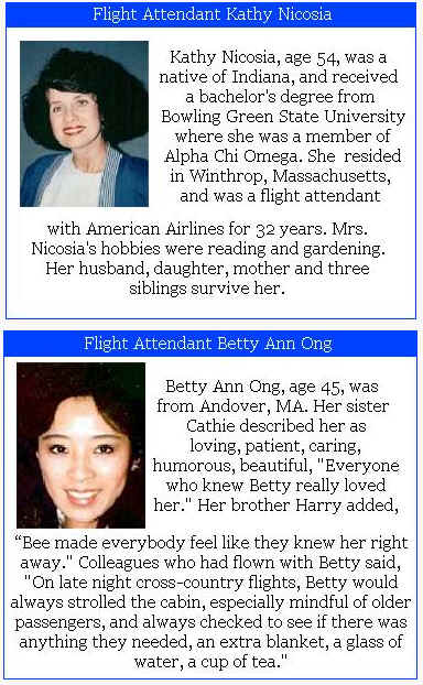 Flight Crew: American Airlines Flight 11