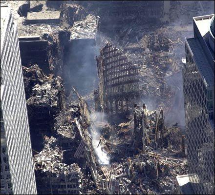 Resultado de imagem para world trade center destroyed